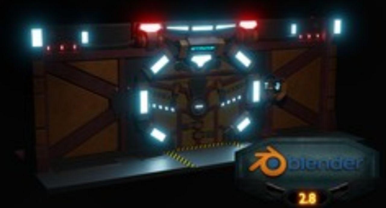 Blender 2.8 Beginners Guide To 3D Modeling A Sci-fi Scene