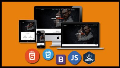 Build a real world responsive website with Html 5 css 3 & JS