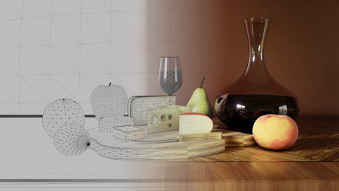 The Complete 3D Artist: Learn 3D Art by Creating 3 Scenes