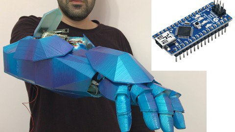 Arduino Build your own Robot ARM with Voice Recognition